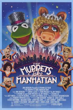 """Poster from """"The Muppets Take Manhattan"""""""
