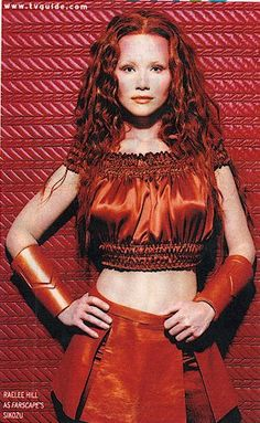 Raelee Hill who played Sikozo in Farscape