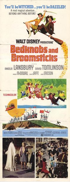 Bedknobs and Broomsticks :)