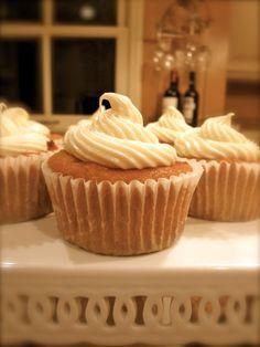 Christina's Cucina: Pumpkin Carrot Cupcakes with Cream Cheese Icing
