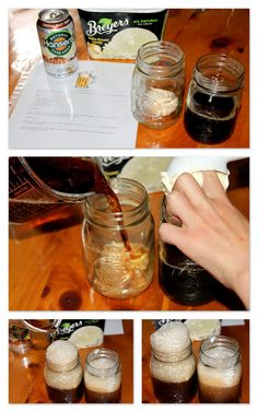 Root Beer Float Science great idea for class celebration that is still learning