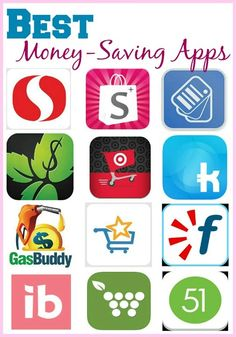 The top 12 Money Saving Apps