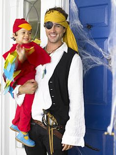 Cutest Mom/Dad and Baby Halloween Costumes to Make « Blueberry Junkie