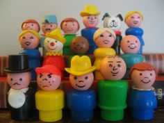 I remember all of these little guys! #memories #80s