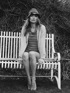 peopl, venetia scott, style, short stories, fashion editorials, katemoss, stripe, kate moss, hat
