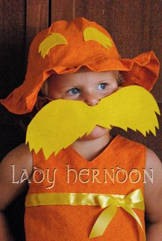 Lorax mustache! Must have for photo booth :)