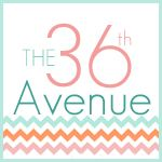 The 36th AVENUE- A creative DIY blog. Sharing tons of recipes, gift ideas, crafts, home décor and home improvement easy to follow tutorials. Come visit to make the ordinary EXTRAORDINARY on a budget! http://www.the36thavenue  Follow on Pinterest http://pinterest.com/the36thavenue/