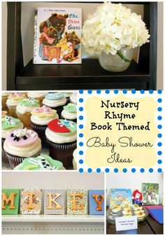 book themed baby shower ideas