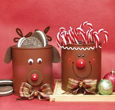 Jolly Christmas Cans