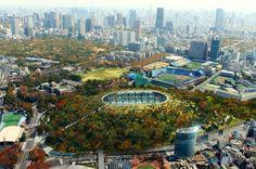 dorell ghotmeh tane: kofun new national stadium japan competition proposal