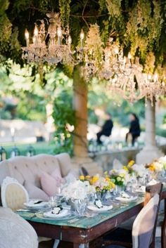 This wedding table i