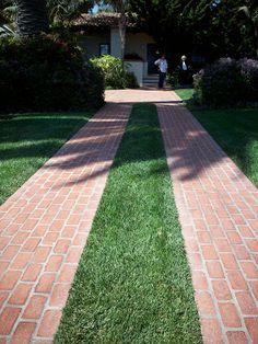 ribbon driveway