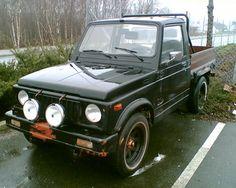 Suzuki sj413 pickup in norway