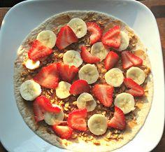 WIAW: Breakfast Fruit Wrap