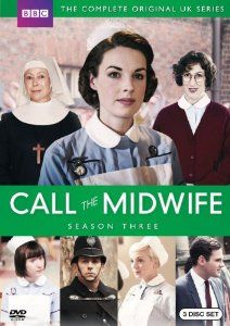 CALL THE MIDWIFE SEASON 3.  http://highlandpark.bibliocommons.com/search?utf8=%E2%9C%93&t=smart&search_category=keyword&q=CALL+MIDWIFE+THREE&commit=Search