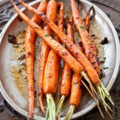 Chipotle-Lime Roasted Carrots Recipe « Go Bold with Butter