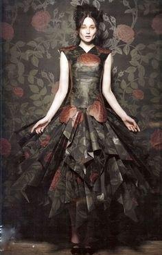 Wallpaper dress