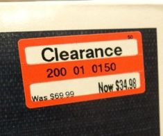 EVERY Target shopper NEEDS to know this:  ****If the price ends in 8, it will be marked down again****  If it ends in a 4, it's the lowest it will be.  Target's mark down schedule:  MONDAY: Kids' Clothing, Stationery (office supplies, gift wrap), Electronics.  TUESDAY: Women's Clothing and Domestics.  WEDNESDAY: Men's Clothing, Toys, Health and Beauty.  THURSDAY: Lingerie, Shoes, Housewares.  FRIDAY: cosmetics