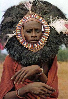 Masai Moran dancer, Kenya.