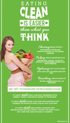 #CleanEating is Easier than you Might Think