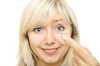 True daily contact lenses are designed to be thrown away after each day, or a few day's worth of use.