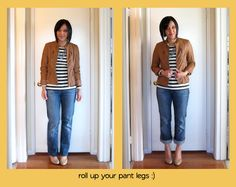 Love this site to see how much better a little fix can make an outfit so much better!