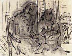 Matisse on breastfeeding