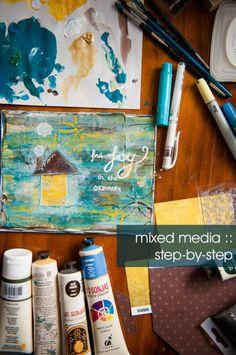 mixed media tutorial