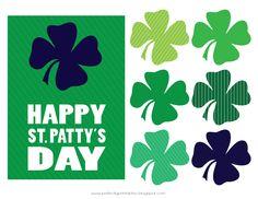 25 Free St. Patrick's Day Printables - Pretty My Party #free #printables #stpatricksday