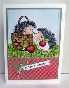 Cute Handmade Card Valentines Love by CardCreationsbyES on Etsy, $4.25