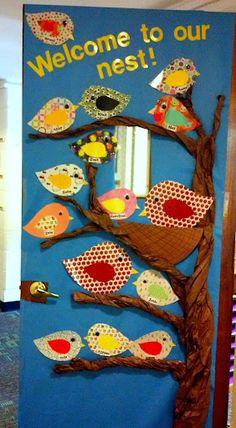 Welcome to preschool!  @Evie Farris Morgart This is so cute!