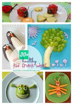 30 Healthy Kid Snack Ideas