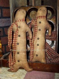 Primitive Folk Art Gingerbread