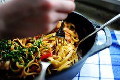 spanish pasta, cajun chicken pasta, noodl, pasta sauces, meal