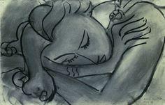 Sleeping Woman     Henri Matisse