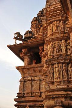 West temples, Khajuraho, India
