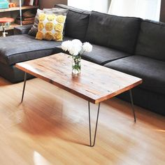 Great table, rustic yet modern.