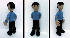 Spock Amigurumi by *bandotaku on deviantART
