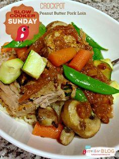 Crockpot Peanut Butter Pork Loin - Todays Creative Blog