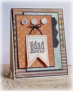 Beautiful card using Verve Stamps