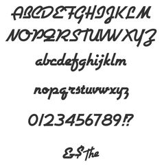Airstream by Nick's Fonts