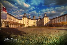 Althoff Grandhotel Schloss Bensberg - Glen Green Photography  #Palace #Castle #Travel #Beautiful #Sky #Fall #Autumn #Cologne #Germany #GlenGreen #Photo #Photography #Colorful #Art #Clouds #Building #Hotel #Landscape