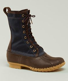Waxed Canvas Maine Hunting Shoe, Women's