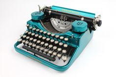 HotRodded Typewriter  Underwood Standard Portable by usbtypewriter, $399.00