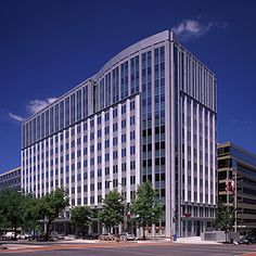 K Street is a power address for law firms, lobbying groups and PR agencies. The Millennium Building is the location of Helena Alden's lobbying firm, Alden & Associates, where Samantha Croft worked.