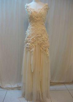 Handmade wedding dress from Etsy seller Madabby