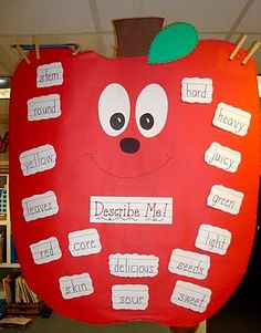 describing words for apples