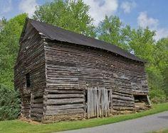 historic barns of North Carolina | Historic barns in Madison County NC