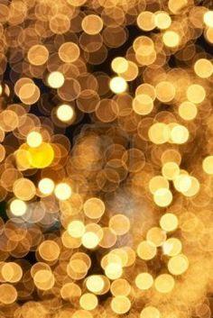 Gold lights.