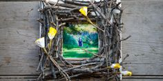 Nature Finds: Twig Photo Frame